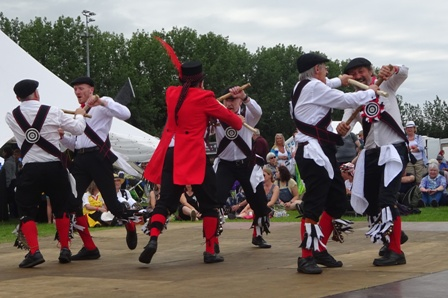 Great Yorkshire Morris stage